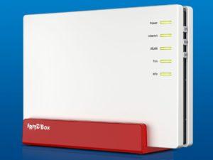 Die Fritz!Box 7582 bietet Unterstützung für G.fast und Supervectoring 35b.© AVM Computersysteme Vertriebs GmbH