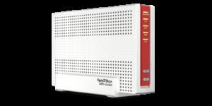 Die Fritz!Box 6591 Cable unterstützt Gigabit-Speed im Kabelnetz.