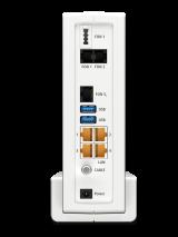 Die Anschlüsse der Fritz!Box 6591 Cable.© AVM Computersysteme Vertriebs GmbH